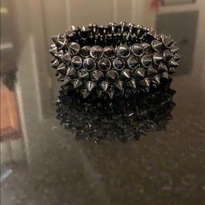 Urban Outfitters Gunmetal bracelet